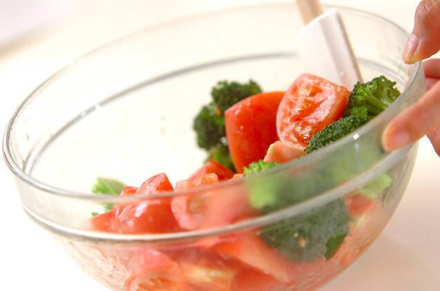 トマトのナンプラー和えの作り方の手順4