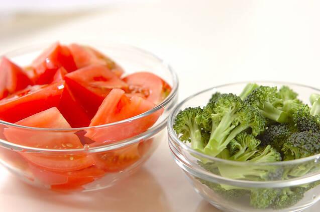 トマトのナンプラー和えの作り方の手順1