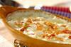 白菜シーフードグラタンの作り方の手順
