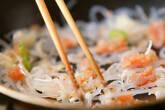 糸コンの明太炒めの作り方3