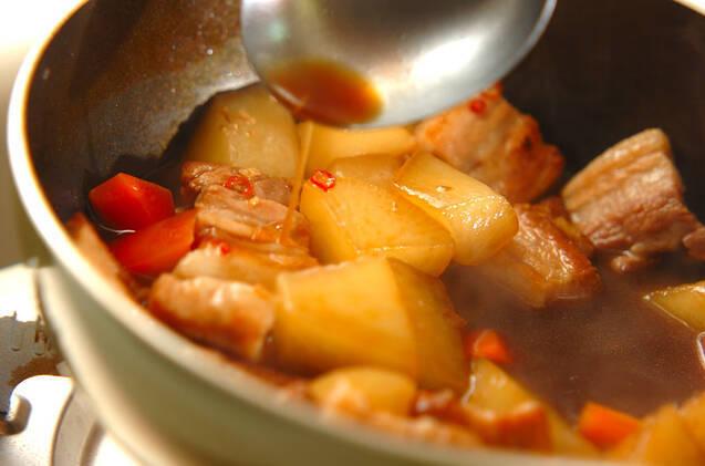 豚肉と大根のオイスター煮の作り方の手順7