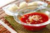 トマトつけダレ素麺