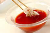 トマトつけダレ素麺の作り方4