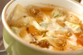 小松菜ワンタンの作り方2