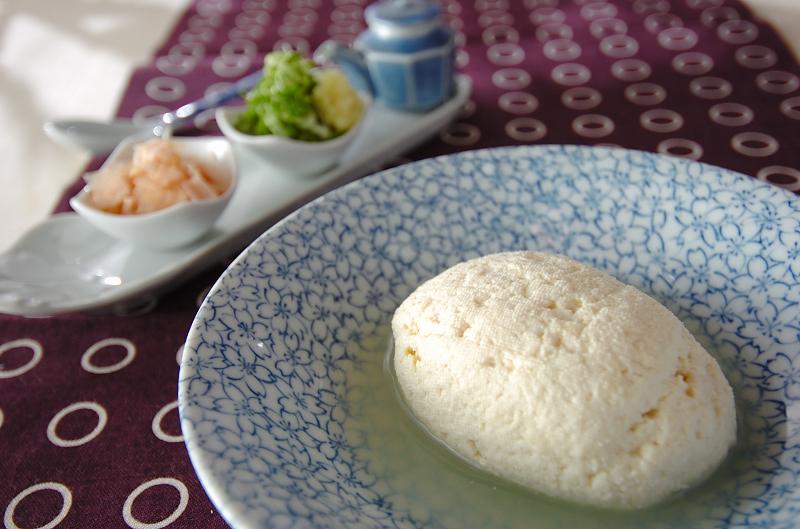 にがりを使った豆腐の作り方