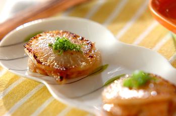 大根の豚肉サンド