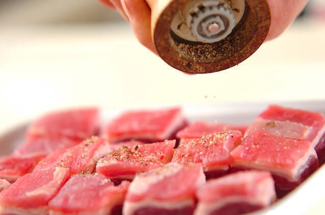 牛肉のビール煮込みの作り方の手順1
