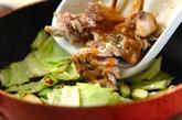 みそサバとキャベツの炒め物の作り方2