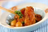 手羽先の焼き肉ダレ照り煮の作り方5