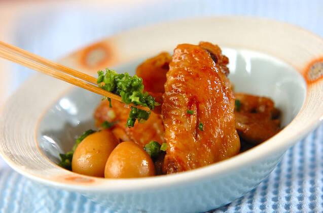 手羽先の焼き肉ダレ照り煮の作り方の手順5