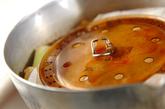 手羽先の焼き肉ダレ照り煮の作り方1