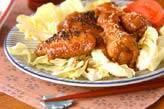 骨付き鶏肉の味唐揚げ