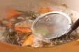 手羽と大豆の煮物の作り方6