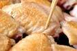 手羽と大豆の煮物の作り方1