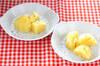 ニンニク風味の粉ふきイモの作り方の手順