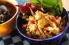 ゴマ風味のポテトサラダの作り方の手順