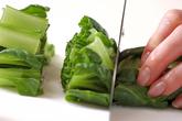 納豆素麺の下準備3