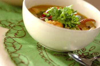 エスニックカレースープ