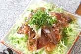 カツオのたたき・梅肉ソース