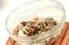 キノコの麩入りおろし和えの作り方の手順6