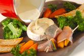 簡単チーズフォンデューの作り方4