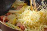 白菜のチーズ炒めの作り方5