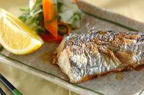 春の魚!サワラのシンプル塩焼き