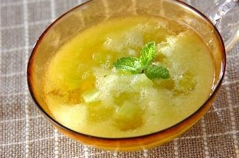 メロンのスープ