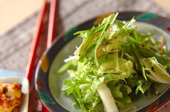 白菜のマスタード和え