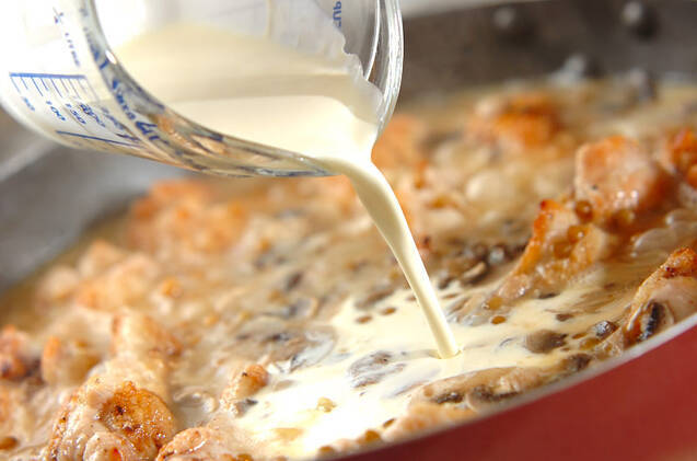 手羽元とレンズ豆の煮込みの作り方の手順7