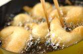 エビと大和芋の揚げ物の作り方3