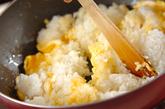 枝豆ガーリックチャーハンの作り方2