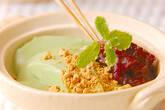 クリーム抹茶豆腐の作り方5