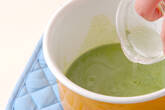 クリーム抹茶豆腐の作り方4