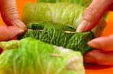 和風味のロール白菜の作り方3