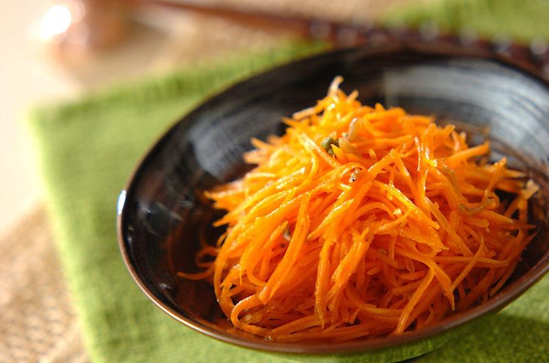 にんじんの和風サラダ