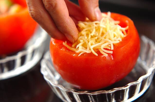 トマトのチーズ焼きの作り方の手順5