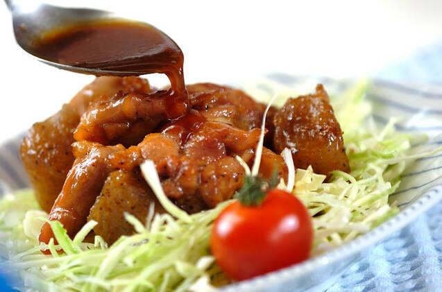 鶏肉のユズ照り焼きの作り方の手順6