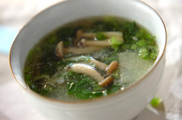 白コショウの具だくさんスープ