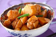 里芋と鶏肉のシンプル煮