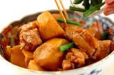 里芋と鶏肉のシンプル煮の作り方2