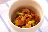 水煮豆のカレー炒め