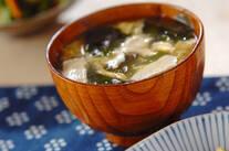 くずし豆腐のかきたま汁