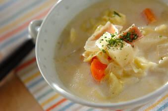 ベジタブルミルクスープ