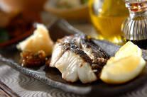 白身魚の塩焼き