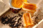 アールグレイ&オレンジティーのアイスキャンディー