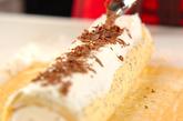 紅茶のロールケーキの作り方4
