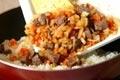 牛肉とキノコのオムライスの作り方5