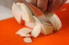 カブの和風ポタージュの作り方の手順1