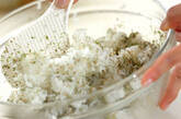 青のりジャコご飯の作り方2